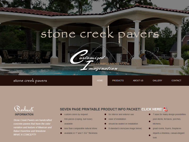 Stone Creek Pavers
