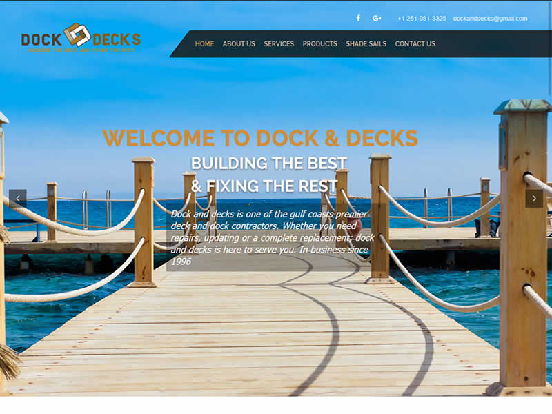 Dock and Decks