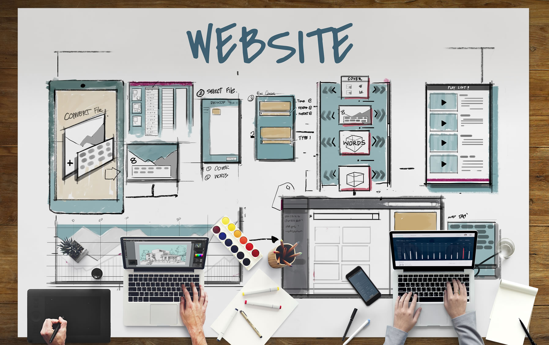 pensacola website redesign